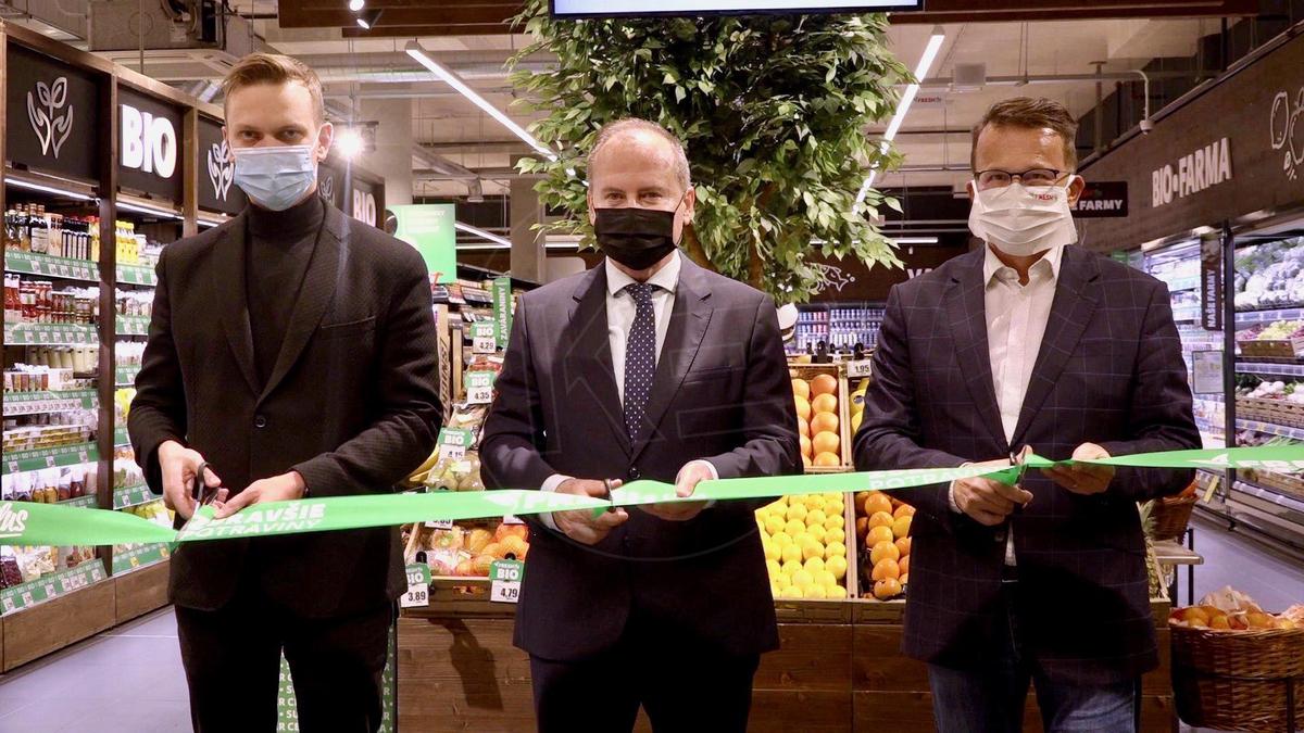 Otevření supermarketu Fresh - Zdroj: TELEVÍZIA KOŠICE